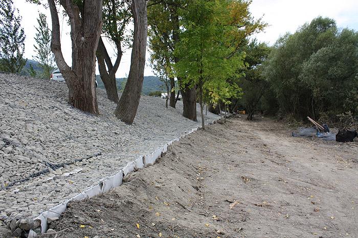 11. sz. főút 46-47 km szelvény árvízi károk helyreállítása